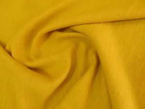 Household French 100% Linen Yellow
