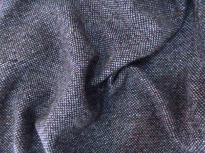 Irish 100% Wool Brown Fleck Tweed Irish Wool and Linens