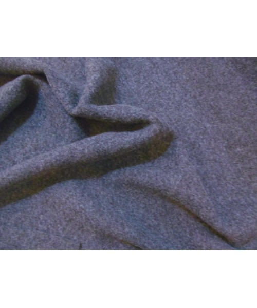 100% Wool French Boiled Grey
