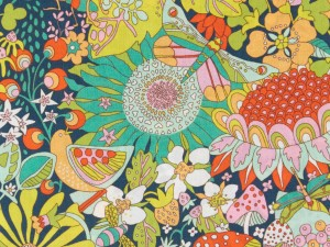 LIBERTY ART FABRIC S/S 100% COTTON LAWN ELODIE BEA
