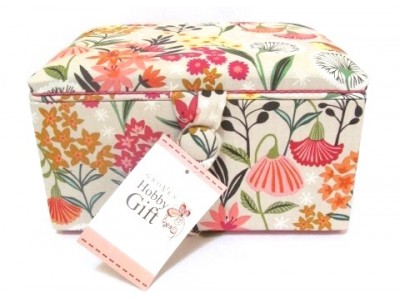 Flower Sewing Basket