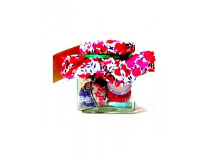 Liberty Print Large Cover Buttons in a Jar