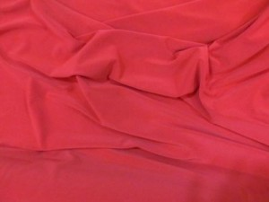 Jersey Polyester red