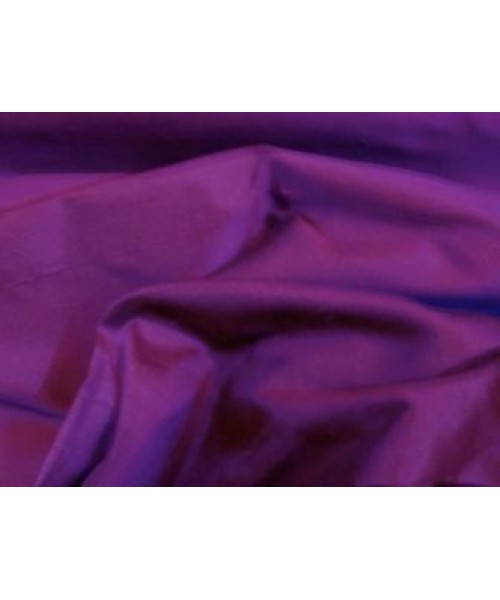 100% Silk Dupion Purple