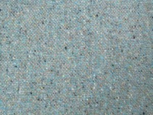 Irish 100% Wool Turquoise Fleck Tweed