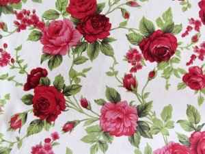 100% cotton Rose print wide width