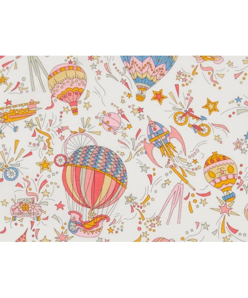 Liberty Art Fabric ss/18 100% Cotton Lawn Sky High pink