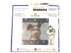 Embroidery Kit The Snowdog
