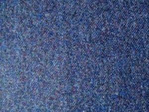 100% Irish Wool Blue Fleck Tweed