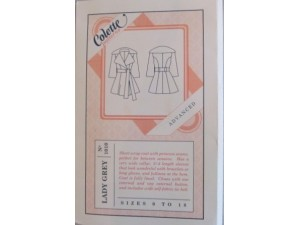 Colette Lady Grey Coat Pattern Gifts