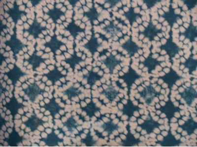Oil Cloth Batik Aqua Tie Dye