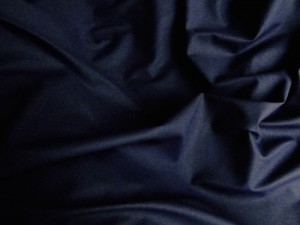 Wool Cashmere Coating Navy