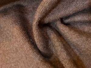 Wool Textured Coating Brown 50% wool 30% viscose 20% poly
