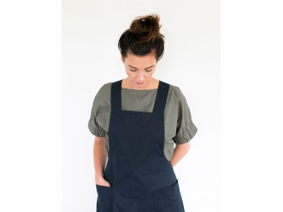 The Assembly Line APRON DRESS PATTERN