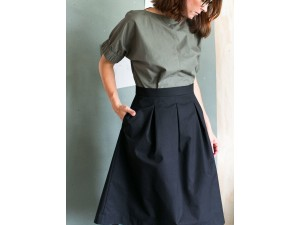 The Assembly Line THREE PLEAT SKIRT PATTERN