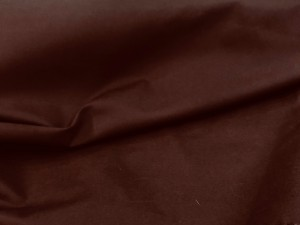 100% Cotton Poplin Brown