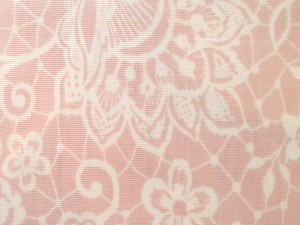 Oil Cloth Lace Pink