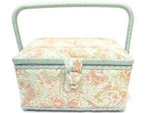 Paisley Sewing Basket
