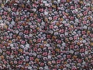 100% Cotton Lawn Pink Yellow Floral