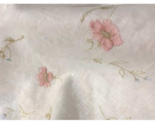 Embroidered Linen Union