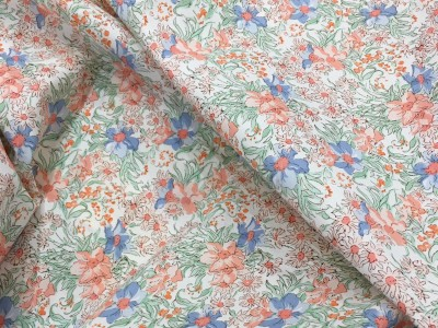 100% Cotton Lawn Spring Meadow