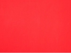 100% Cotton Poplin Red Scarlet