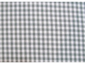 100% Cotton Yarn Dyed Gingham Grey  Cotton Prints