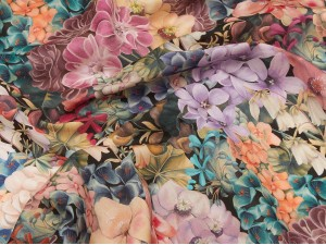 Liberty SS 19 Painted Journey C 100% Silk Satin