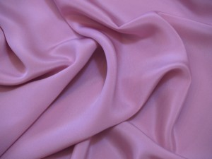 100% Silk Heavy Crepe Pink 175g