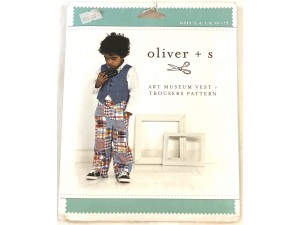 Pattern Oliver and s art museum vest