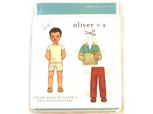 Pattern Oliver and s nature walk pull over