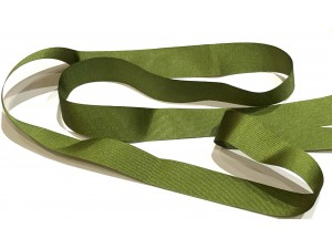 Grosgrain Ribbon 25mm Green
