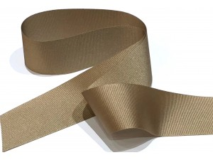 Grosgrain Ribbon 40mm Maple Bark