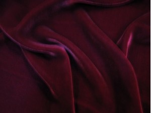 Velvet Silk Red Black Velvets