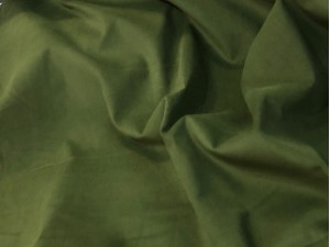 100% Cotton Needle Corduroy Green