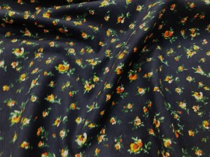 100% Cotton Needle Corduroy Winter Floral