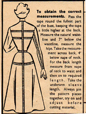 Correct Measurement Vintage image
